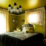 Good-Looking Black And Green Curtains Bedroom Eclectic With Chartreuse And Throw Pillows Black Duvet