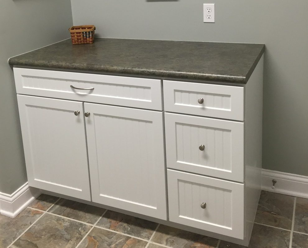 Dishy Kraftmaid Laundry Room Cabinets Laundry Room Traditional With Polarcrest Door And Polarcrest
