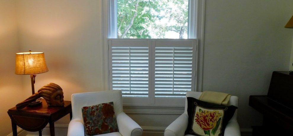 Extraordinary Hunter Douglas Plantation Living Room Transitional With Plantation Shutters And