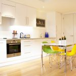 Magnificent Kitchen Drapes Pictures Kitchen Scandinavian With Colorful Dining Chairs And High Gloss