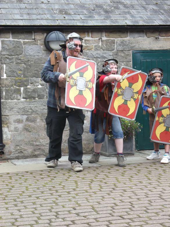 Roman Soldier School.