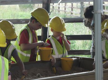 Archeology Detectives at Chesters Roman Fort.