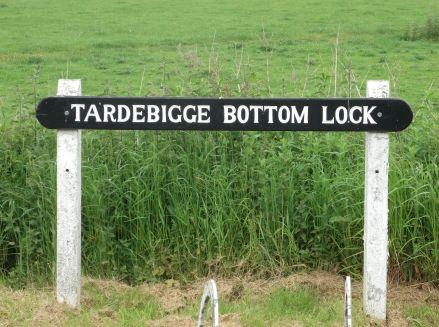 The bottom of the Tardebigge Flight.