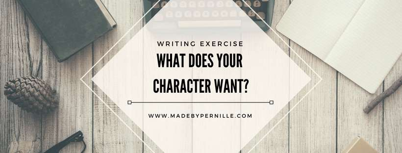 Character motivation writing exercise