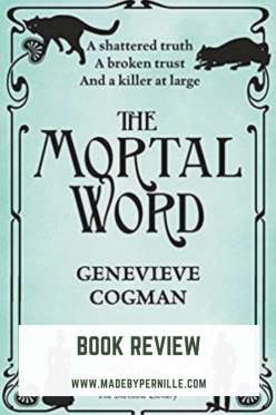 Book review The Mortal Word by Genevieve Cogman