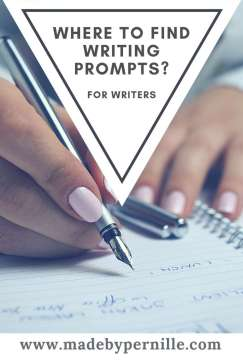 Her finder du writing prompts