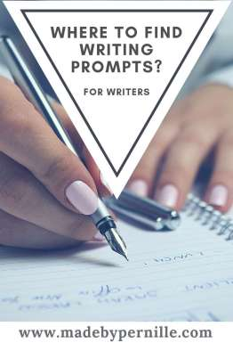 Where do you find writing prompts?