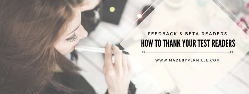 How to thank your test readers madebyPernille