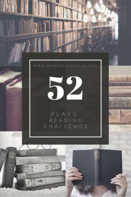 52 plays reading challenge