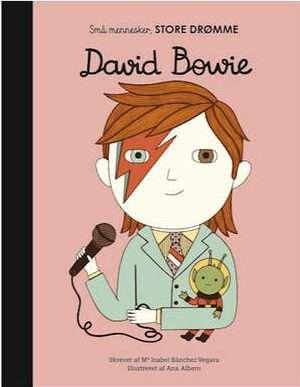 Book review små mennesker store drømme David Bowie