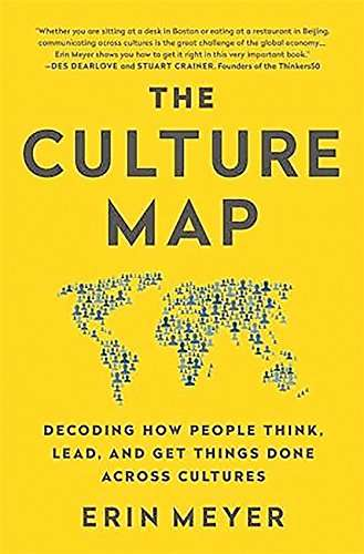 book review the culture map by Erin Meyer