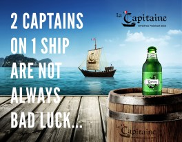 La Capitaine Advertisement2