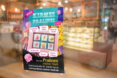Poster Kirmes Praline Designs