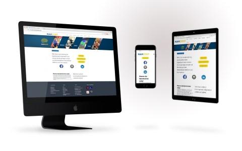 NAH-Oost webdesign