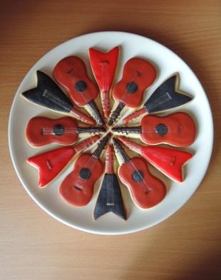 gitary ciasteczka maślane