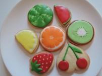 owocki mix - ciasteczka maślane