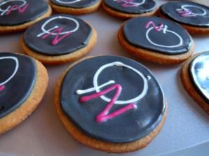 ciasteczka maślane z logo Quality Nails