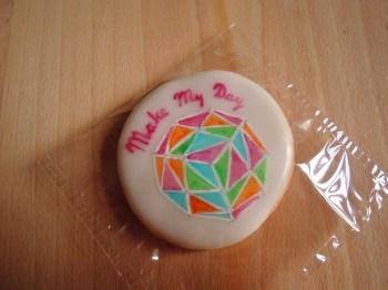 make my day ciasteczka maślane z logo