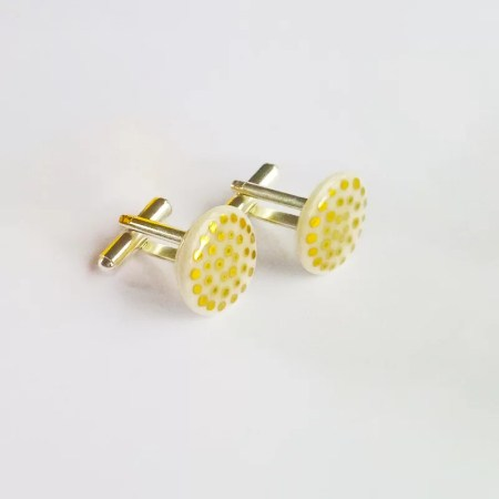 Tracy Birchwood - Porcelain cufflinks