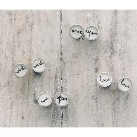 Clare Collinson - Word Earrings