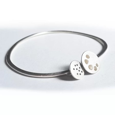 Julia Wright - Seed pod bangle