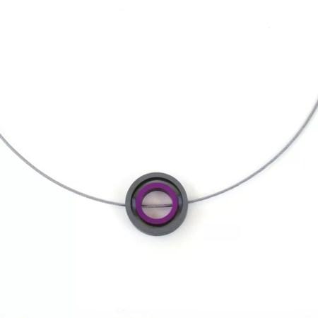 Rosina Beech - aluminium pendant