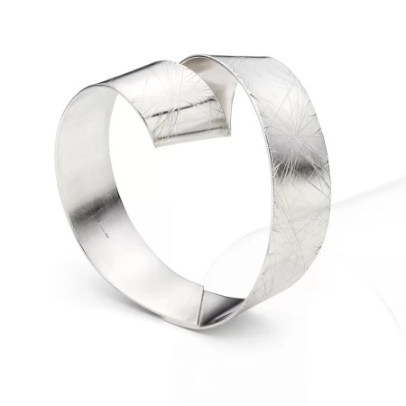 Jodie Hook - Loop faceted Bangle