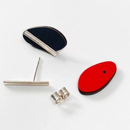 Kokkino - Earrings