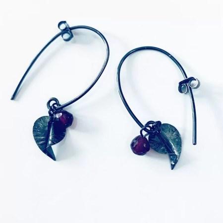 Nettie Birch - Earrings