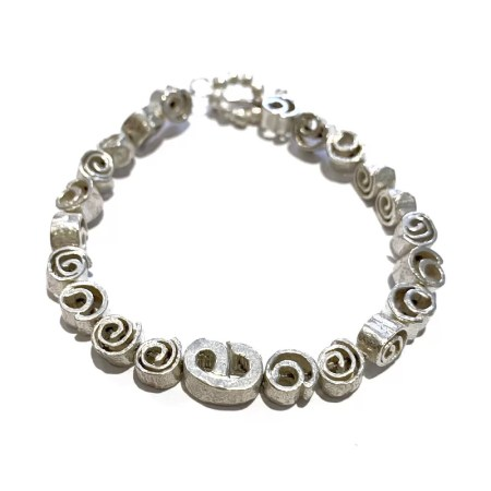 Fiona Hutchinson - cinnamon swirl bracelet large