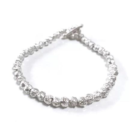 Fiona Hutchinson - silver peppercorn bracelet