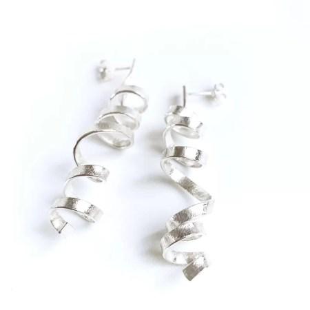 Frances Stunt - Long Spin drop earrings