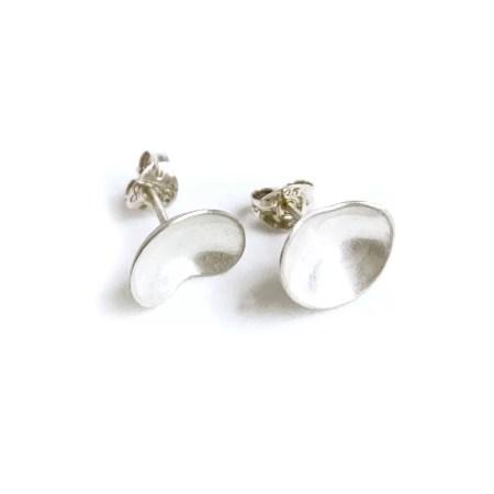 Julia Wright - Kidney bean cup earrings
