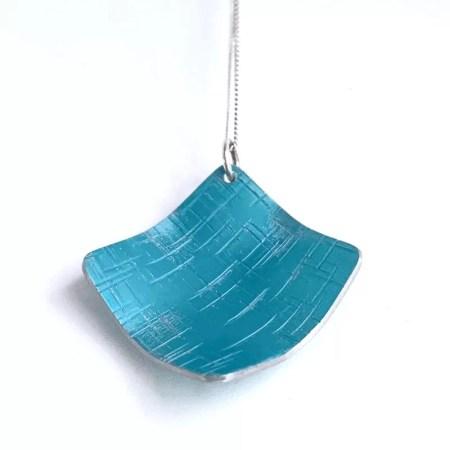 Lisa Marsella - Pendant blue tone