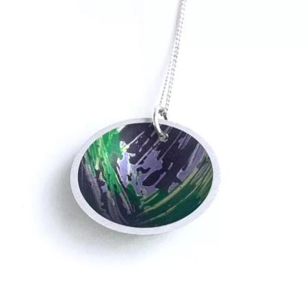 Lisa Marsella - Domed pendant