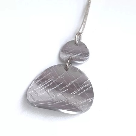 Lisa Marsella - Pendant silver tone