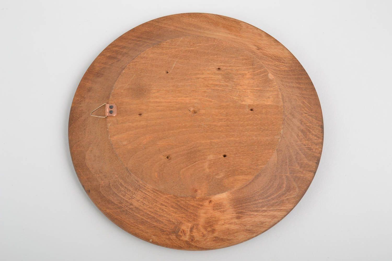 MADEHEART > Handmade Wood Plate Rustic Home Decor Wall