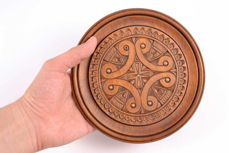 MADEHEART > Handmade Wood Plates Decorative Wall Plates
