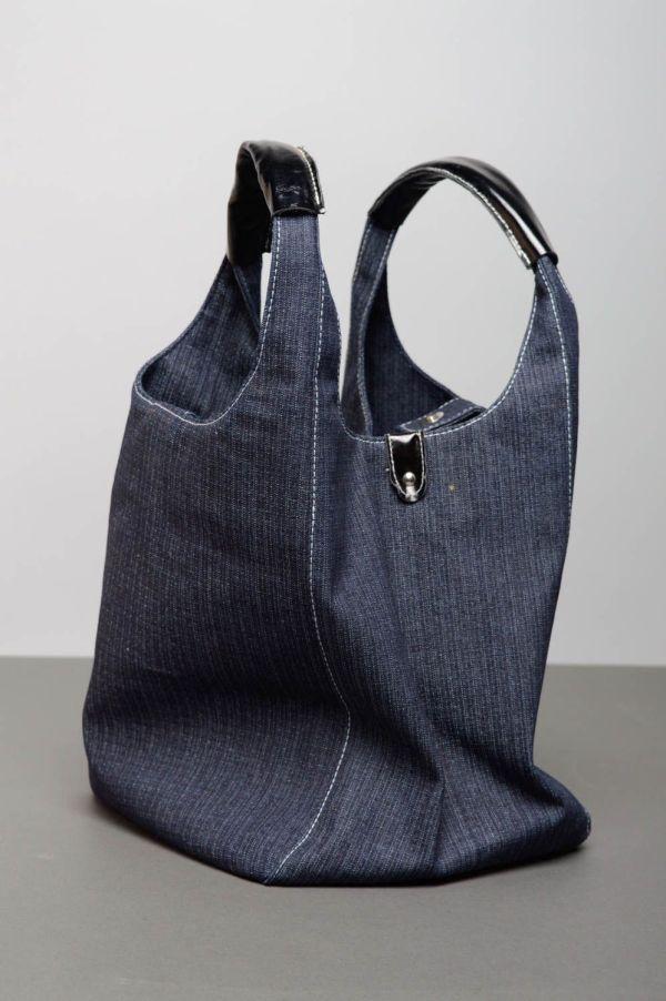 Сумка из джинсовой ткани с росписью 2052203500 - купить в ...