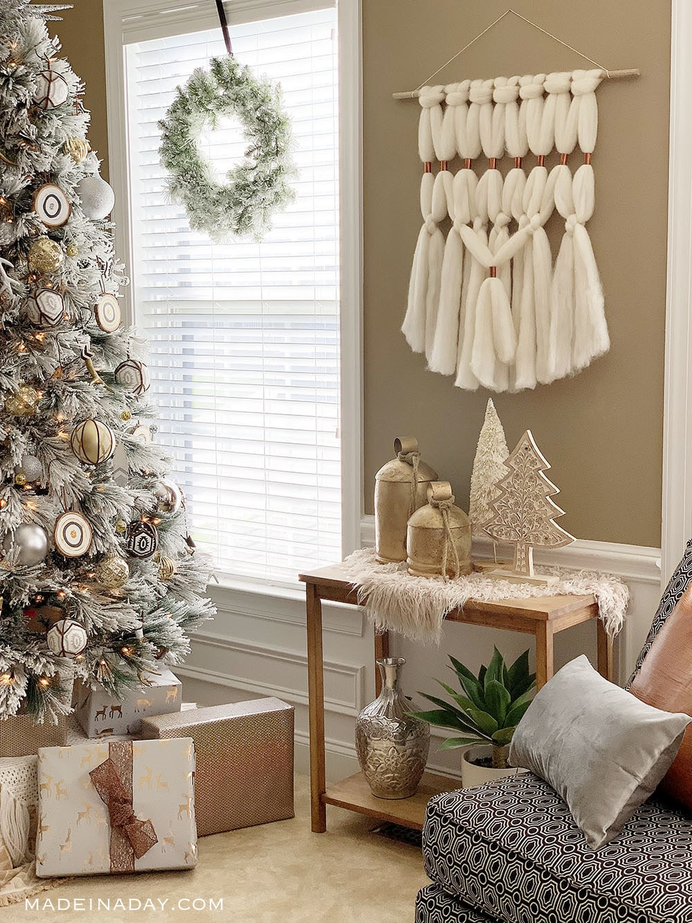 Gorgeous Rustic Bohemian Holiday Home Tour | Made In A Day on Boho Modern Decor  id=31403