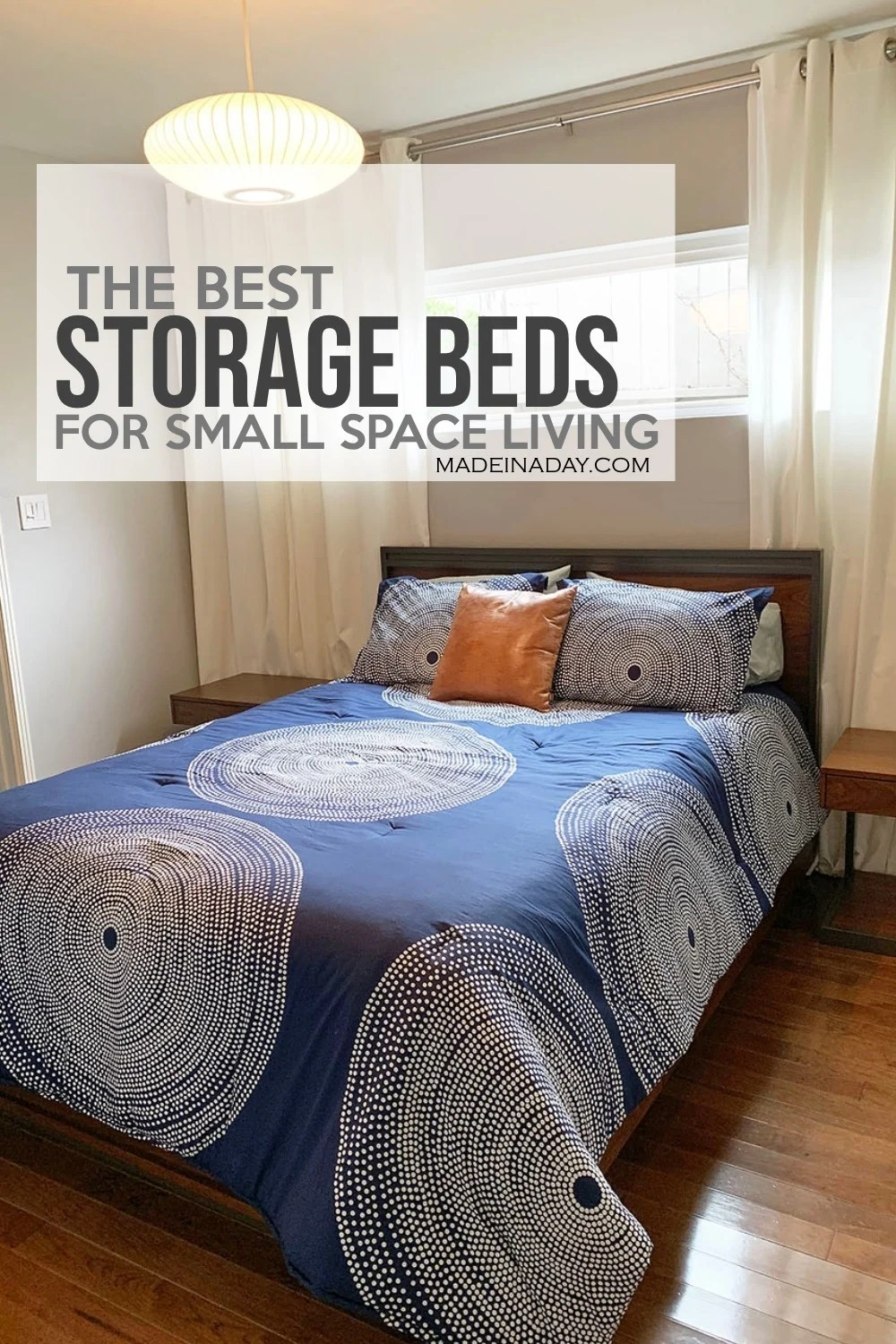 The Best Storage Beds For Small Spaces Made In A Day