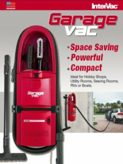 Wall Mount Garage Vacuum