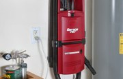 GarageVac GH120-E Black Wall Mount Garage Vacuum