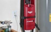 GarageVac GH120-E Black Wall Mount Garage Vacuum