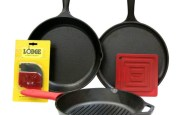 Seasoned Cast Iron Cookware By Lodge