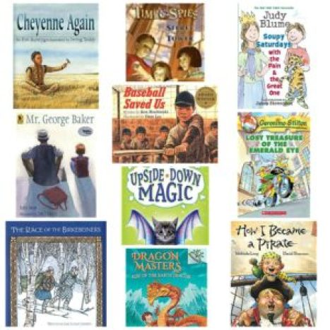 2nd grade reading list books