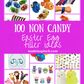 100 Fun and Easy Easter Egg candy alternatives!
