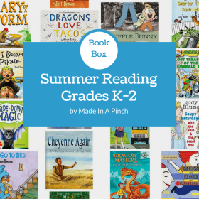 Made In A Pinch Book Box: Summer Reading List for Kindergarten-2nd graders!