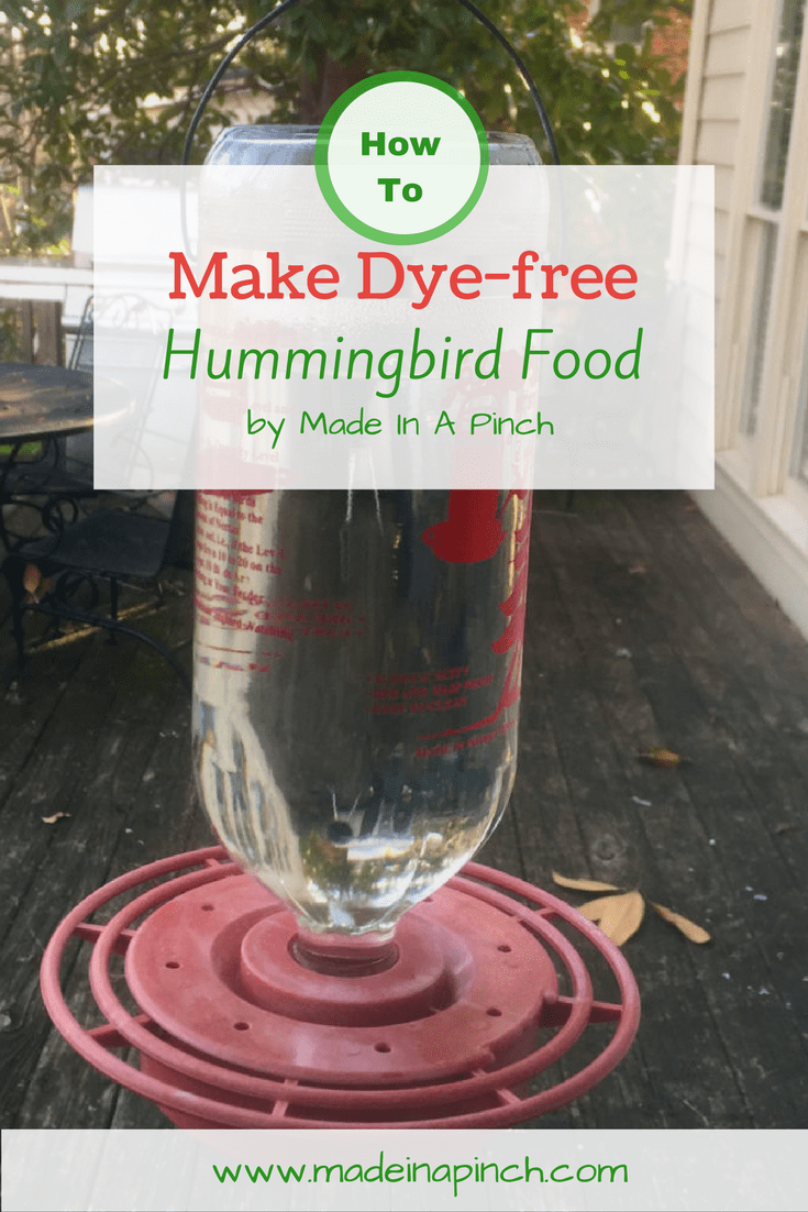 try making homemade hummingbird food - Homemade Hummingbird Food