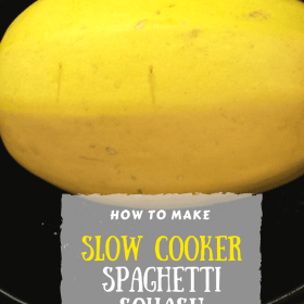 Incredibly Easy Slow Cooker Spaghetti Squash